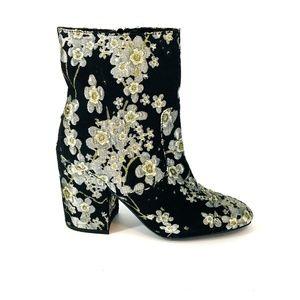 Indigo Rd Brooke Metallic Floral Jaquard Boot 8M